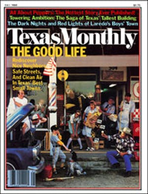 Cover of Texas Monthly May 1980