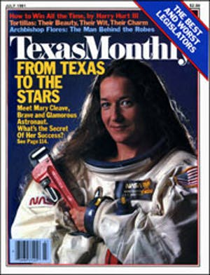 Cover of Texas Monthly July 1981