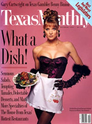 Cover of Texas Monthly October 1991