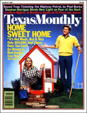 Cover of Texas Monthly March 1981