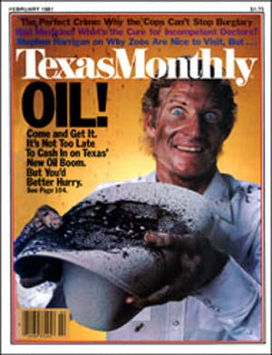 Cover of Texas Monthly February 1981