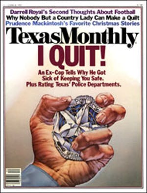 Cover of Texas Monthly December 1982