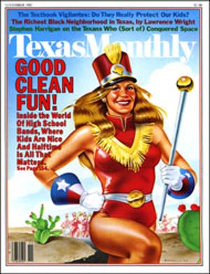Cover of Texas Monthly November 1982