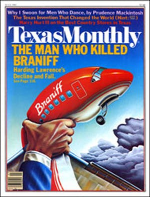 Cover of Texas Monthly July 1982