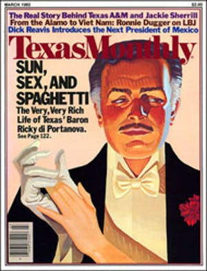 Cover of Texas Monthly March 1982