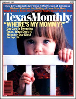 Cover of Texas Monthly February 1982