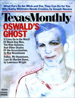 Cover of Texas Monthly November 1983