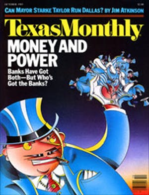 Cover of Texas Monthly October 1983