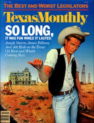 Cover of Texas Monthly July 1983