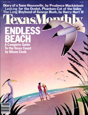 Cover of Texas Monthly June 1983