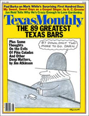 Cover of Texas Monthly May 1983