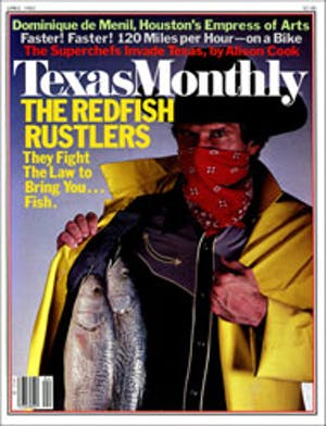 Cover of Texas Monthly April 1983