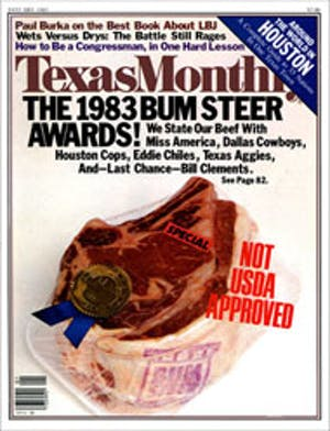 Cover of Texas Monthly January 1983