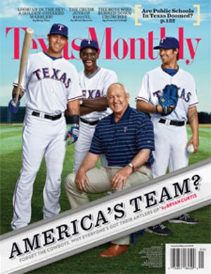 Cover of Texas Monthly May 2011