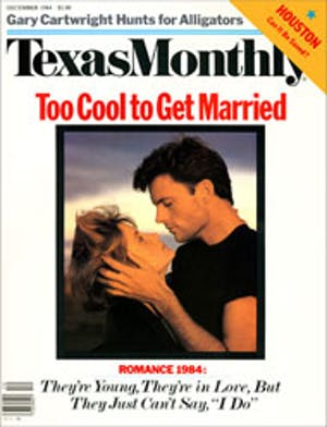Cover of Texas Monthly December 1984