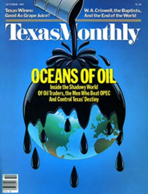 Cover of Texas Monthly October 1984