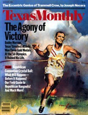 Cover of Texas Monthly August 1984