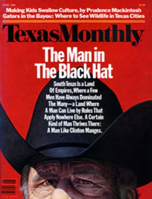 Cover of Texas Monthly June 1984