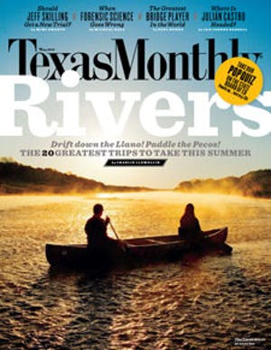 Cover of Texas Monthly May 2010