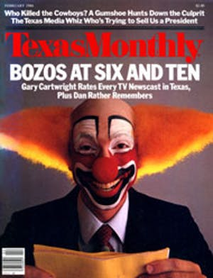 Cover of Texas Monthly February 1984