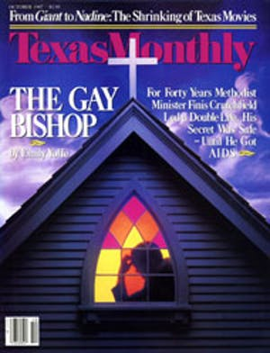 Cover of Texas Monthly October 1987