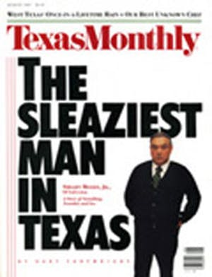 Cover of Texas Monthly August 1987