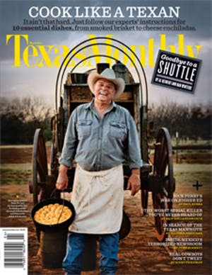 Cover of Texas Monthly April 2011