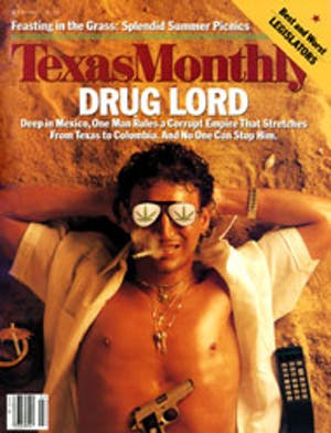 Cover of Texas Monthly July 1987