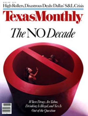 Cover of Texas Monthly June 1987