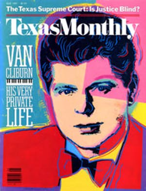 Cover of Texas Monthly May 1987