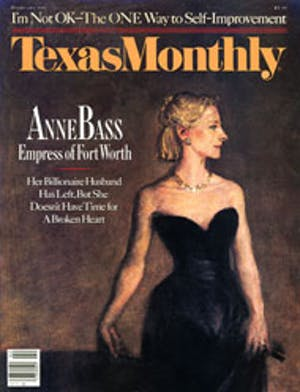 Cover of Texas Monthly February 1987