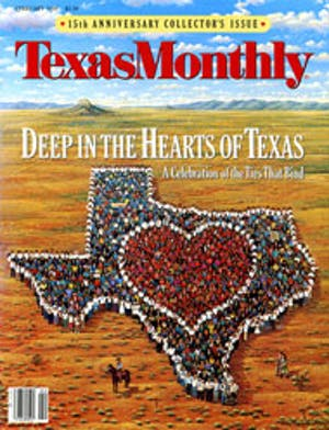 Cover of Texas Monthly February 1988
