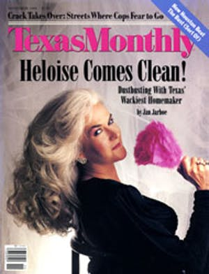 Cover of Texas Monthly November 1988