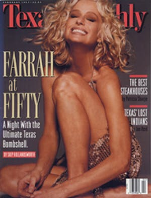 Cover of Texas Monthly February 1997
