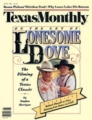 Cover of Texas Monthly June 1988