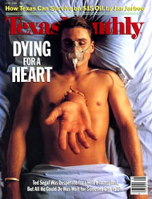 Cover of Texas Monthly May 1988