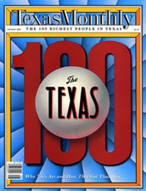 Cover of Texas Monthly August 1989