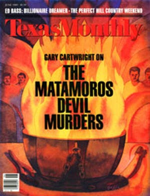 Cover of Texas Monthly June 1989