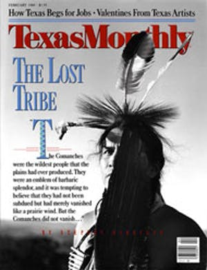 Cover of Texas Monthly February 1989