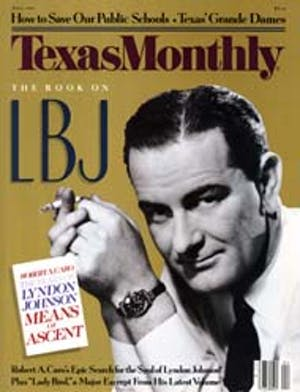 Cover of Texas Monthly April 1990
