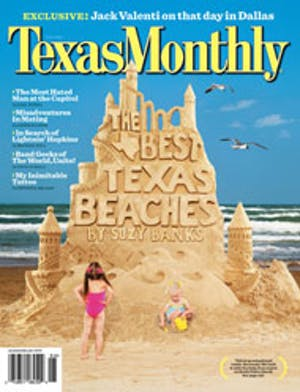 Cover of Texas Monthly June 2007