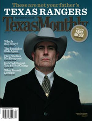 Cover of Texas Monthly April 2007