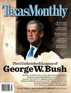 Cover of Texas Monthly March 2007