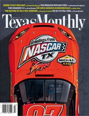 Cover of Texas Monthly February 2007