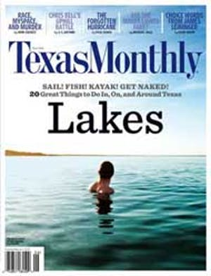 Cover of Texas Monthly June 2006