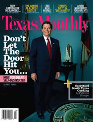 Cover of Texas Monthly May 2006