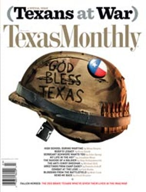 Cover of Texas Monthly March 2006