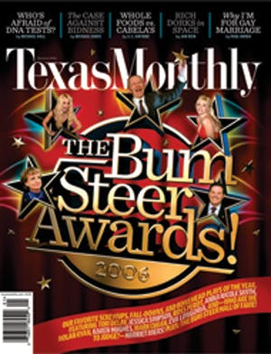 Cover of Texas Monthly January 2006