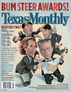 Cover of Texas Monthly January 2004
