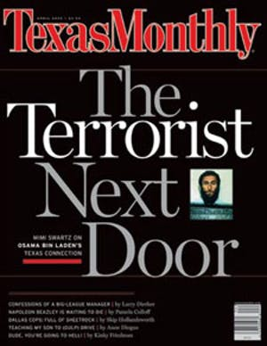 Cover of Texas Monthly April 2002